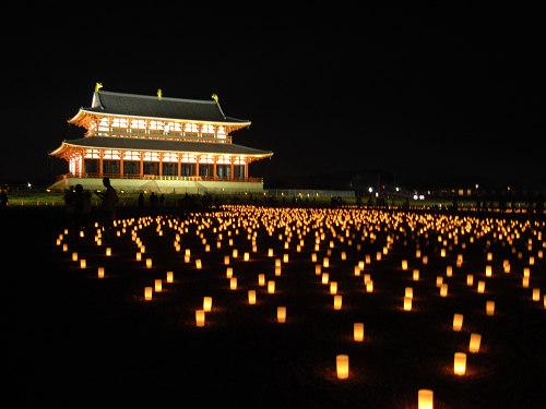 平城宮跡夏季フェア「光と灯りのフェア」-17