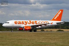 G-EZDW - 3746 - Easyjet - Airbus A319-111 - Luton - 100805 - Steven Gray - IMG_1157