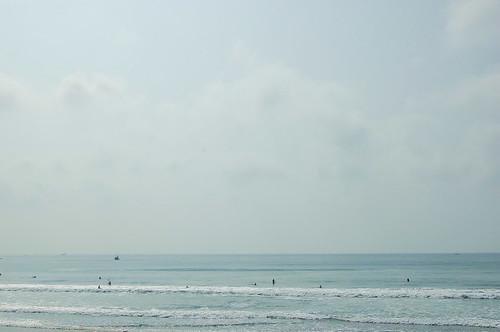 サーファーの海