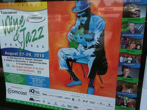 Vancouver Wine & Jazz Festival 2010