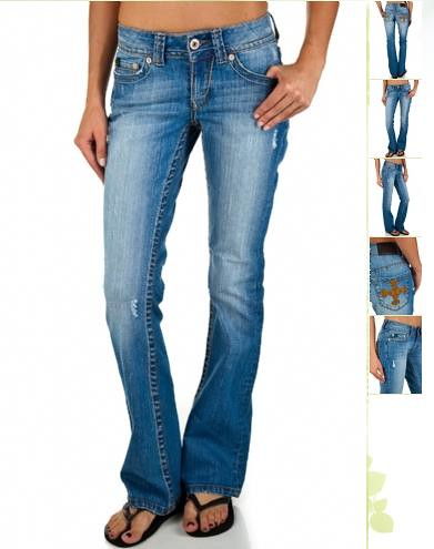 Recycled cotton denims by REUSE JEANS 1