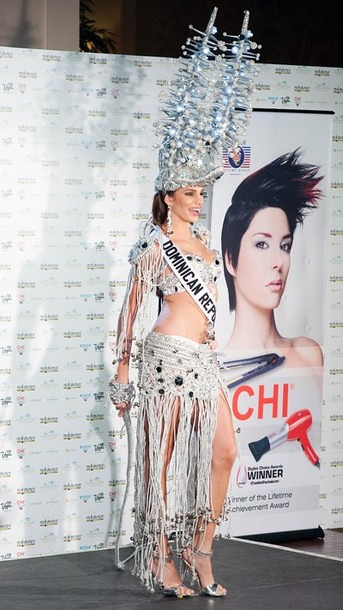 National Costume of Miss Dominican Republic