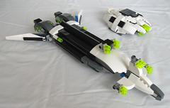 Cerberus-01 (zrath) Tags: lego space scifi spaceship moc microspace grievous microscale microspacetopia zrath legoremix