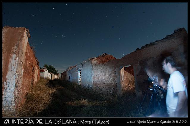 NOCTURNA EN LA QUINTERÍA DE LA SOLANA - MORA