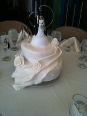 Mercedes Wedding Cake (Patricia Palomo2010) Tags: cakeclass