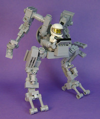 Pete-Mech-Lite (DARKspawn) Tags: robot power lego space suit walker mecha bot mech classicspace