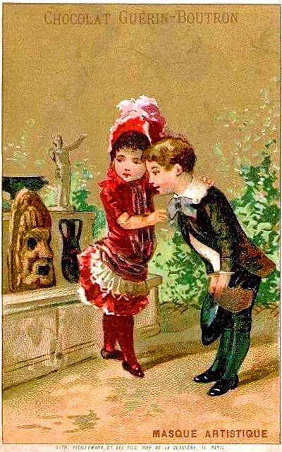 1890s-chromo_ Masque Artistique_400
