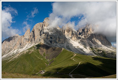 Plattkofel (Cold Mountain) Tags: mountains landscape dolomites plattkofel