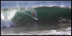 Getting The Shot (digit50d) Tags: canon waves tubes surfing orangecounty oc 100400mm wedge thewedge 50d bellyboards