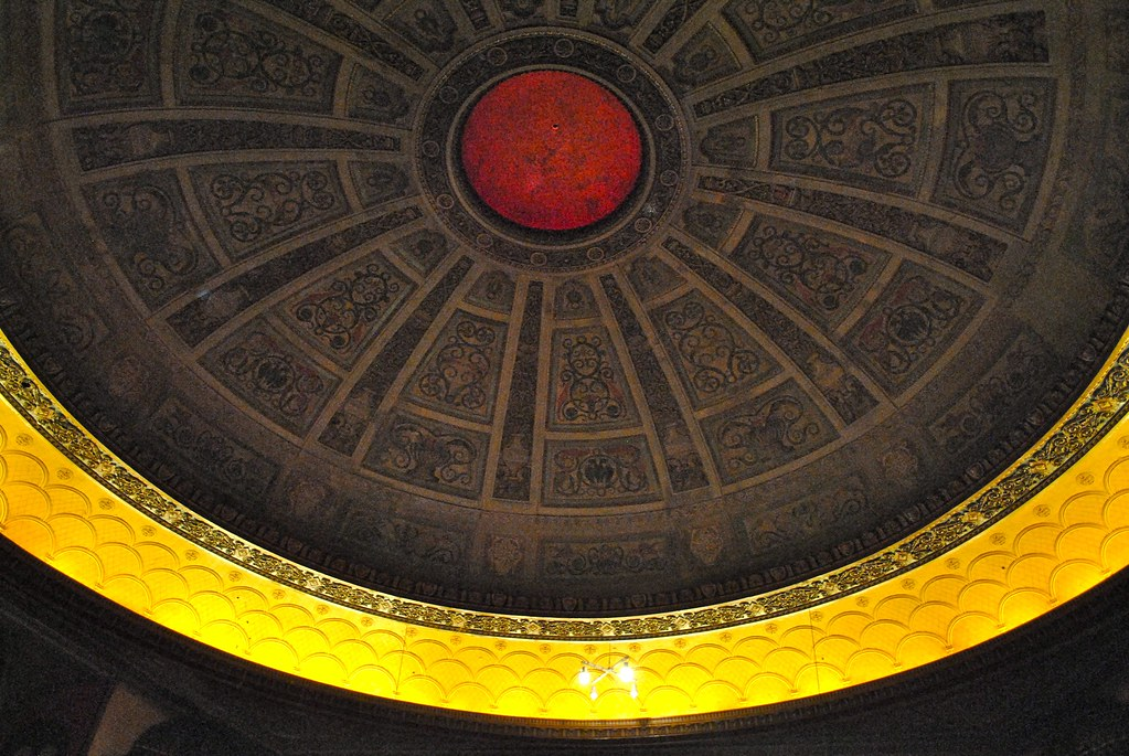 Congress Theater ceiling