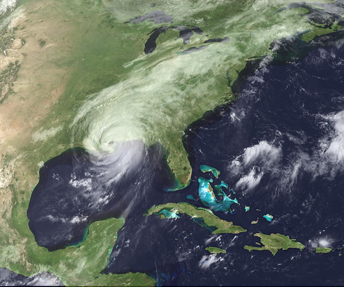 NASA photo of Hurricane Katrina