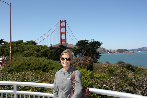 2010: In front of the Golden Gate Bridge