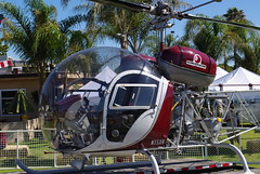 Bell 47 G-3 B-1 Helicopter (ron.photographer) Tags: helicopter bellhelicopter 47g3b1 2010camarilloairshow
