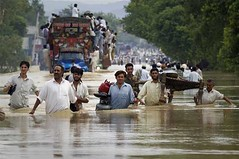 Overstromingen Pakistan