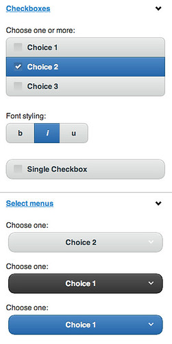 Sample jQuery Mobile Components