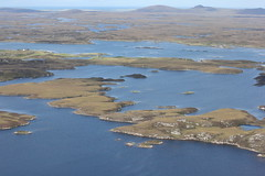 View North from Eaval, North Uist