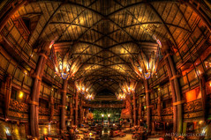 The Lobby at the Animal Kingdom Lodge.jpg (MDSimages.com) Tags: lighting travel architecture hotel orlando florida disney lodge lobby disneyworld hdr animalkingdom animalkingdomlodge travelphotography photomatix michaelsteighner mdsimages