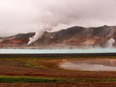 the power of geothermy (the rik pics) Tags: red iceland energy smoke rosso vapour energia fumo islanda namafjall renewables geothermy vapore geotermia fontirinnovabili energiarinnovabile