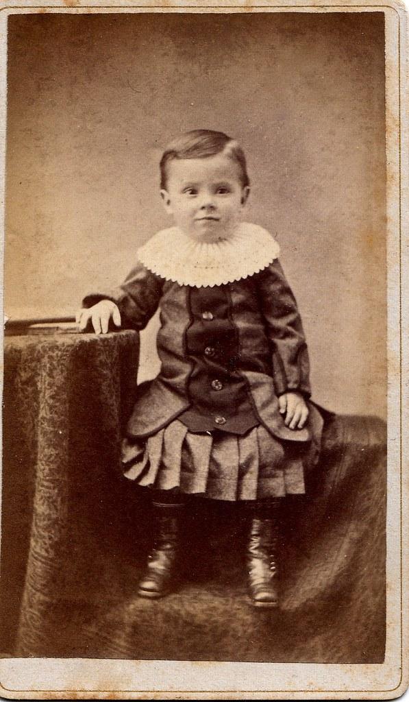 """Merle Poffinburger"" circa 1881"