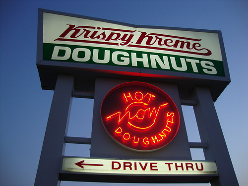 Krispy Kreme Hot Doughnuts NOW