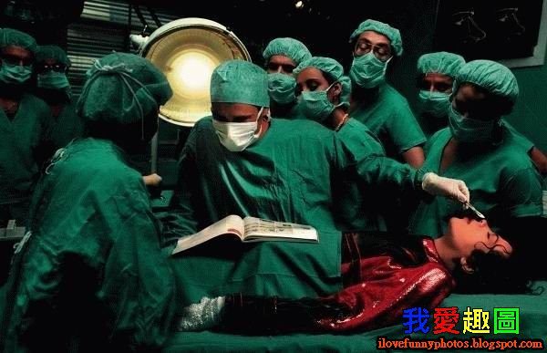 醫生救人 臨時抱佛腳