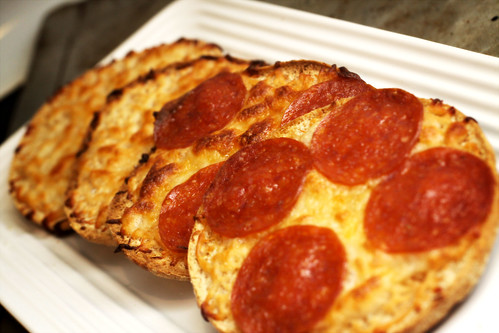 thin pizza snacks
