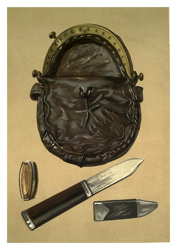 014-Bolsa de piel y cuchillo de Rob Roy-Abbotsford…1893-ilustrado por William Gibb
