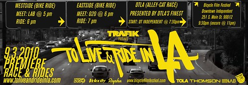 """To Live & Ride In L.A."" Premiere Event 9.3.2010"