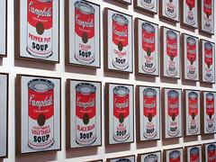 love wharhol..... (Montse Córdova) Tags: new york ny newyork art love andy soup arte moma museumofmodernart warhol sopa camphells