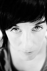 Schwester S. (J. Oetinger) Tags: blackandwhite face digital eyes nikon gesicht augen schwarzweiss oetinger