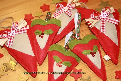 ♥♥♥ Natal é vermelho...