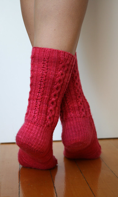 Royal Flush Sweetheart Socks