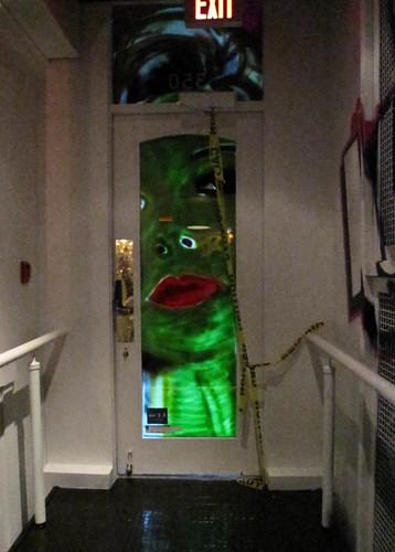 Opus Hotel 100 Days green door
