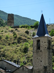 Torre i campanari d'Escal (Daguerrotipo2009) Tags: montaa pirineo valldecards