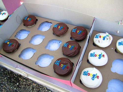 Sloogle cupcakes