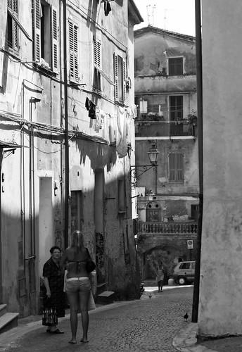 Old Town in Ventimiglia -1