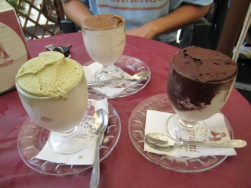Granita at Cafe Cipriani