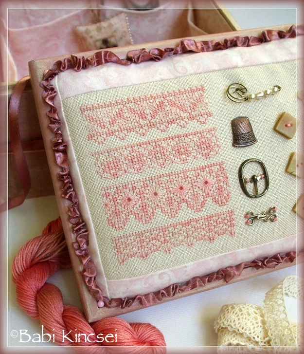 Salmon Lace Sampler