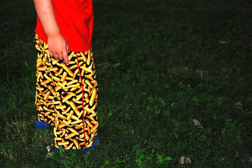 french fry pants for c.c.