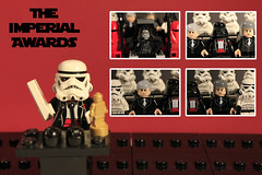 """..And The Nominees Are..."" (Pedro Vezini) Tags: starwars palpatine lego stormtroopers imperial awards darthvader emperor tarkin moff veers lifeonthedeathstar"
