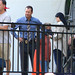 "Donnie Wahlberg filming ""Blue Bloods"""