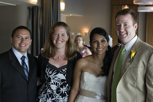 Me & Jose with the Newlyweds!