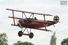G-FOKK - 477 17 - PFA 238-14253 - Private - Fokker DR-1 TriPlane Replica - Little Gransden - 100829 - Steven Gray - IMG_2773