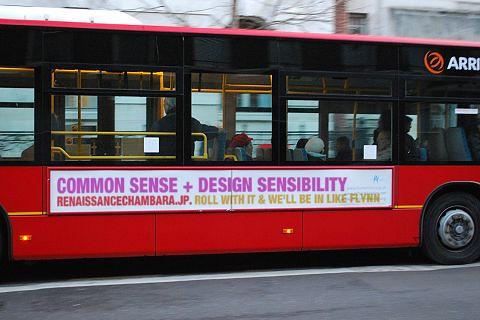 Bus slogan