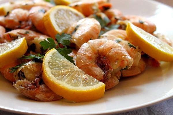 Articole culinare : Salata calda de creveti