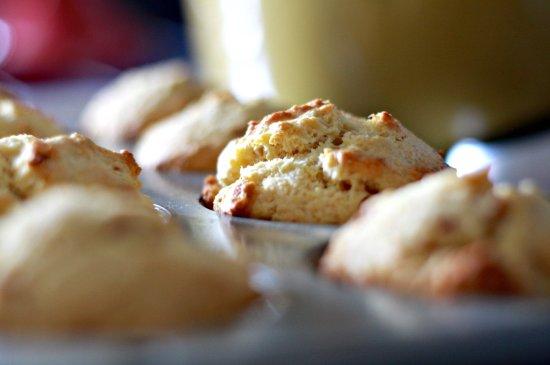 Corn & Bacon Muffins