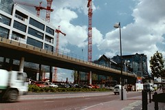 South Quay Station (Tim Brown 59) Tags: london docklands 1989 dlr lddc