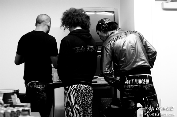 LMFAO Soundcheck - Santa Clara - 9/23/10