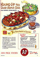 Vintage Ad #1,255: Round Up this (Economical) Dude Ranch Dish