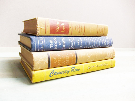 http://www.etsy.com/listing/61981009/vintage-john-steinbeck-book-collection